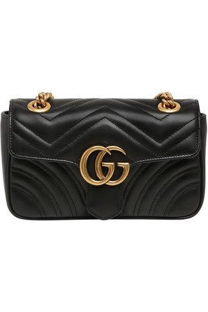 """Gucci Bolso """"mini Gg Marmont 2.0"""" De Piel"""