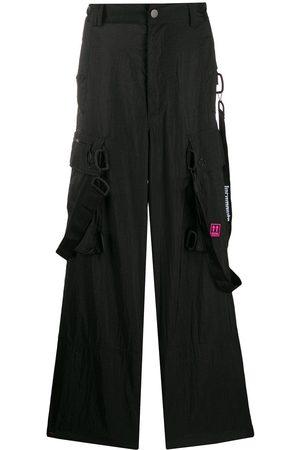OFF-WHITE Pantalones tipo cargo holgados