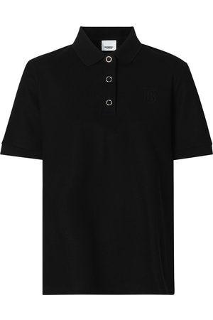 Burberry Monogram motif piqué polo shirt