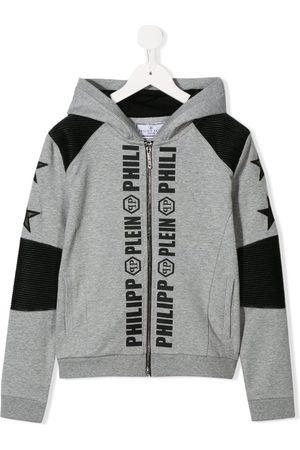 Philipp Plein Con capucha - Logo print hoodie