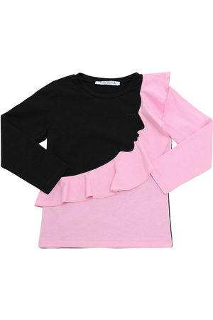 VIVETTA Camiseta De Algodón Jersey Con Manga Larga