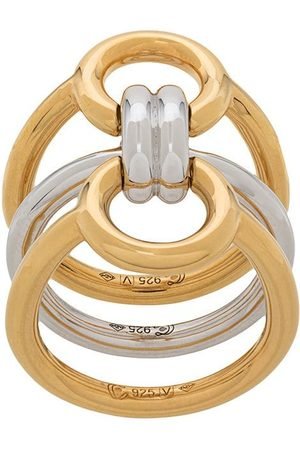 CHARLOTTE CHESNAIS Anillos Tryptich