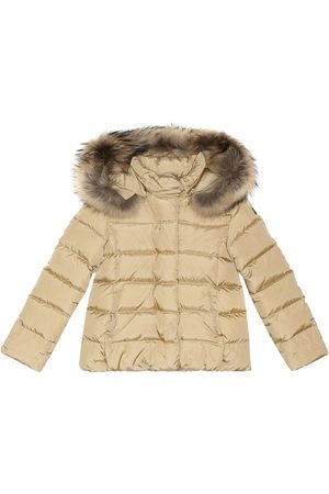 Il gufo Fur-trimmed quilted jacket