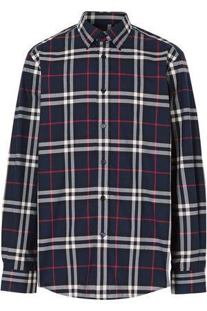 Burberry Camisa con Vintage Check