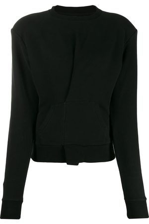 Unravel Project Pintuck front sweatshirt