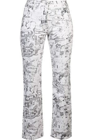 OFF-WHITE Mujer Rectos - Jeans rectos