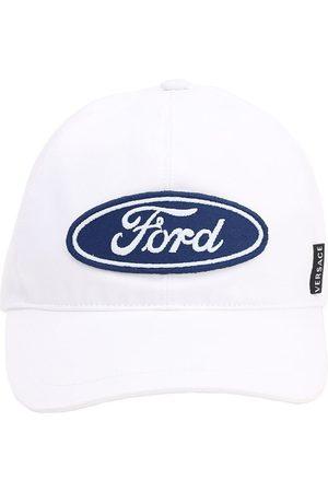 VERSACE Gorra De Baseball Con Logo Ford Bordado