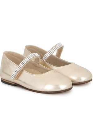 Babywalker Niña Flats - Swarovski crystal ballerinas