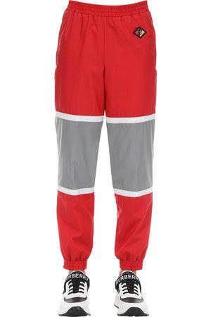Burberry Hombre Pantalones y Leggings - Logo Patch Cotton Blend Track Pants