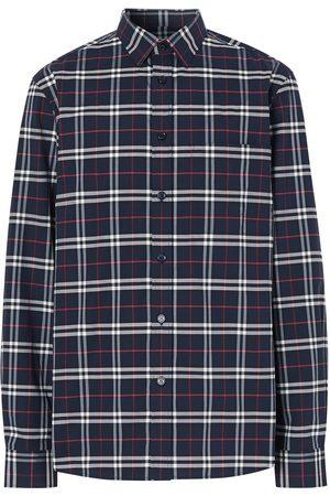 Burberry Camisa slim a cuadros