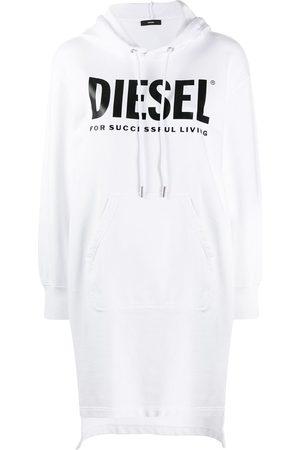 Diesel Vestido estilo sudadera con cordones