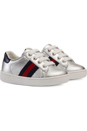 Gucci Tenis - Zapatillas bajas con detalle de tribanda