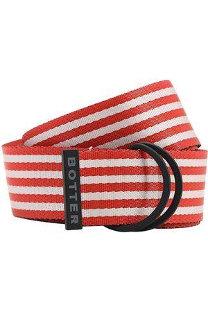 Botter Cinturón De Nylon A Rayas 40mm