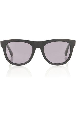 Bottega Veneta 01 D-frame acetate sunglasses