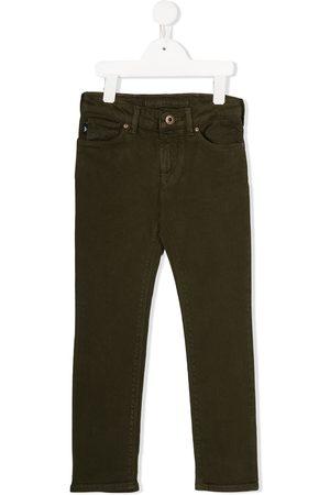 Emporio Armani Jeans rectos con tiro medio
