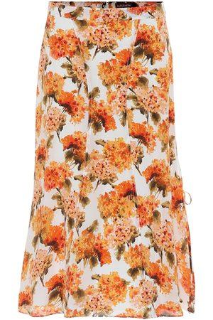 Altuzarra Exclusive to Mytheresa – May floral high-rise silk midi skirt