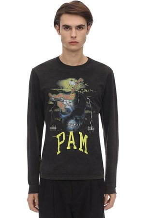 PAM - PERKS AND MINI Hombre Playeras manga larga - Camiseta De Algodón Con Manga Larga