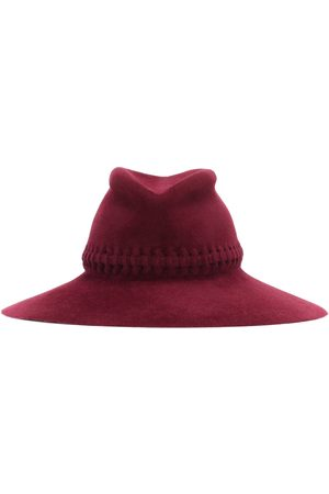 LOLA HATS Exclusive to Mytheresa – Fretwork Redux felt hat
