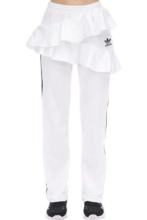 adidas Pantalones Deportivos De Terciopelo Con Volantes