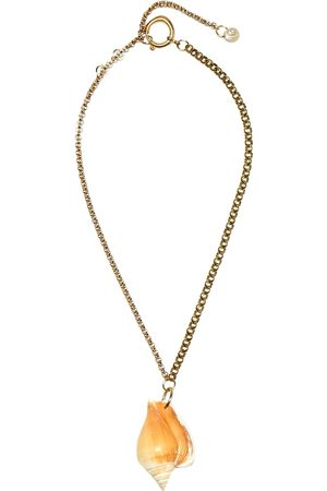 Marine Serre Seashell necklace