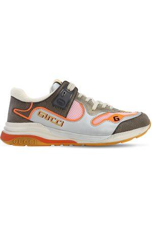 """Gucci Sneakers """"ultrapace"""" De Malla Y Ante"""