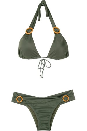 Brigitte Mujer Anillos - Bikini con detalles de anillos