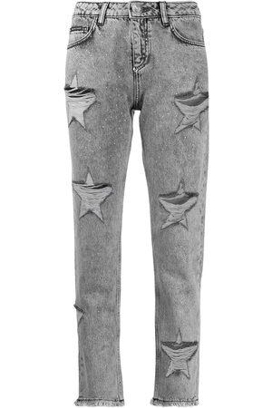 Philipp Plein Jeans boyfriend con efecto desgastado