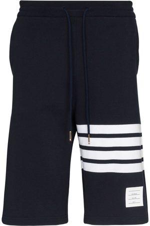 Thom Browne Pantalones cortos de deporte con franjas