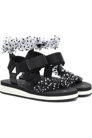 Midnight 00 Tulle sandals
