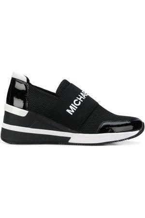 Michael Kors Zapatillas runner de plataforma con logo