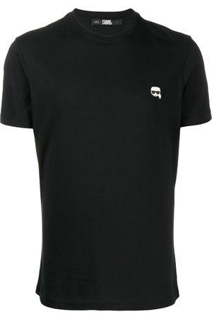 Karl Lagerfeld Hombre Playeras - Playera con parche del logo pequeño