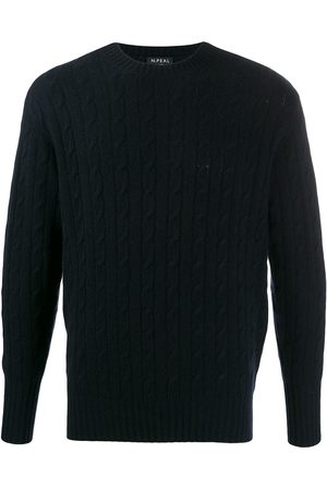 N.PEAL 007 Cable Crew Neck Sweater