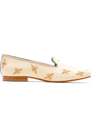 Blue Bird Shoes Mocasines Bees