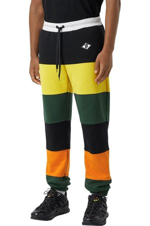 Burberry Pantalones Deportivos De Jersey De Algodón