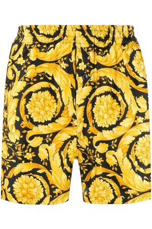 VERSACE Bermudas de pijama con estampado Barocco