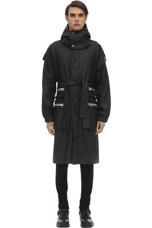 RAGLAN UNITED Eron Scrub Coated Cotton Trench Coat