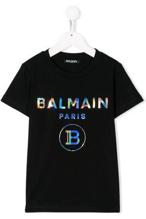 Balmain Playera con logo
