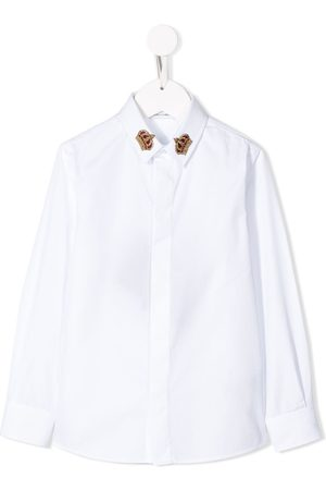 Dolce & Gabbana Crown embroidered shirt