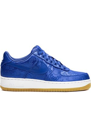 Nike Tenis Air Force 1 Blue Silk x Clot