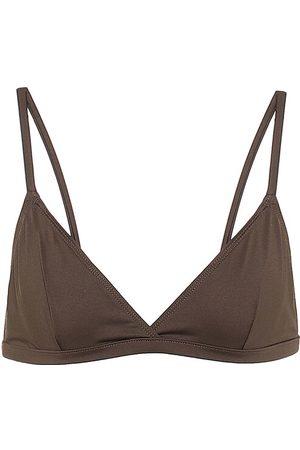 ASCENO Genoa triangle bikini top