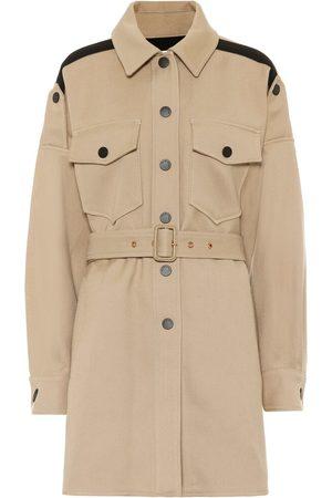 Chloé Cotton-blend coat
