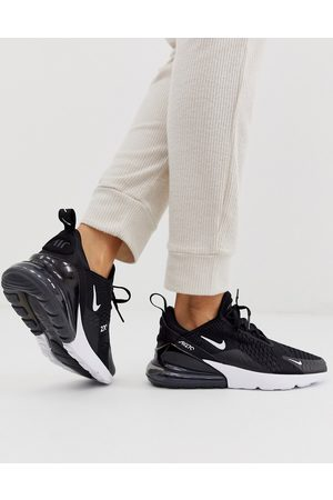 Nike Air Max 270 Trainers in black and white