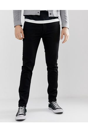 Levi's 512 slim tapered low rise jeans in black