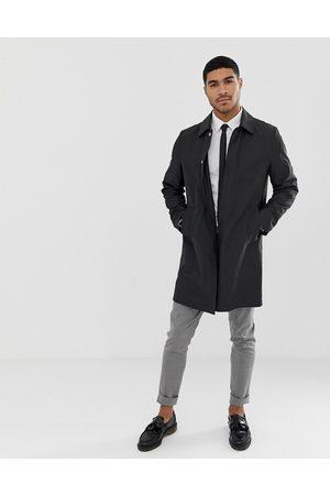 ASOS Shower resistant trench coat in black