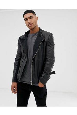 Bolongaro Quilted leather biker jacket