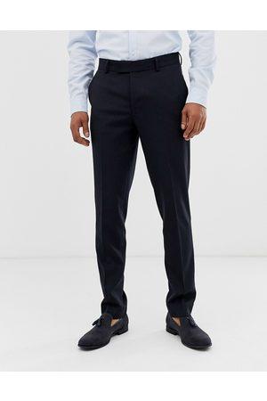 ASOS Skinny smart trousers in navy