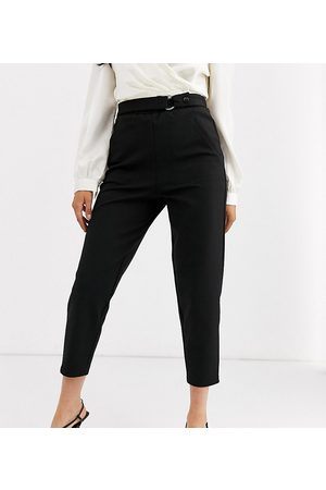 ASOS ASOS DESIGN Petite smart slim trouser in ponte