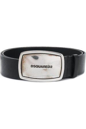 Dsquared2 Cinturón con logo en la hebilla