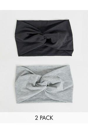ASOS Pack of 2 twist front headbands