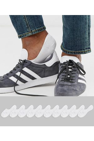 ASOS 10 pack invisible liner sock in white save